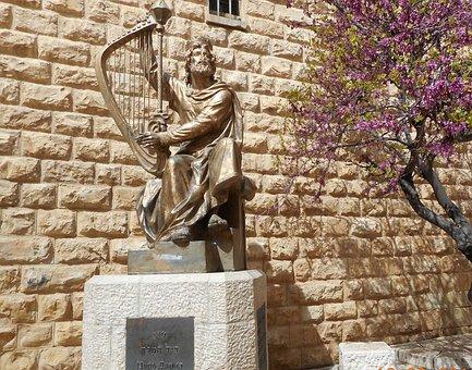 Jerusalem, King David, Harp