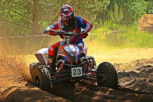 Motocross, Quad, Atv, Motorcycle, Cross, Race