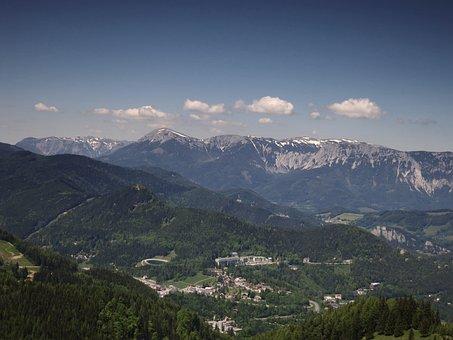 Alpine, Semmering, Landscape, Mountains, Lower Austria