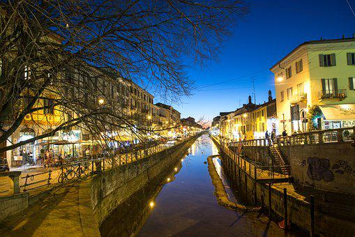 Milan, Navigli, Nightlife