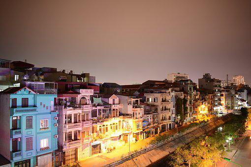 A Corner Of Ha Noi, Night In Ha Noi, Nikon D7100
