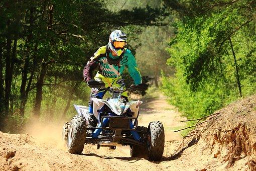 Quad, Atv, Motocross, Enduro, All-terrain Vehicle, Race