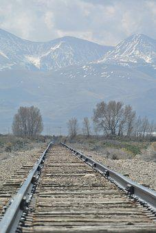 Dreary, Vanishing Point, Rail Track