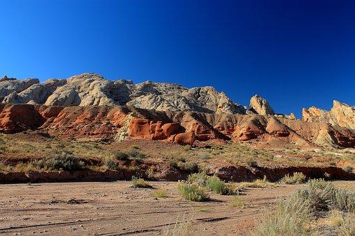 Utah, Badlands, Desert, Sandstone, Geology, Usa, Rock