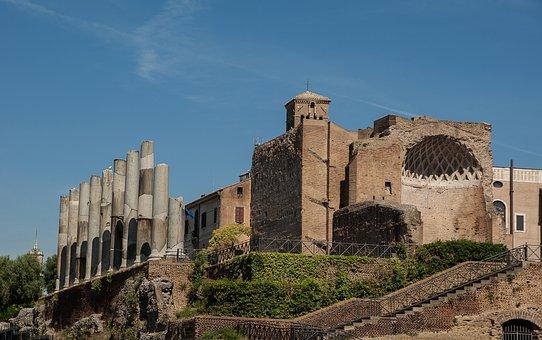 Rome, Coliseum, Forum, Ancient Architecture