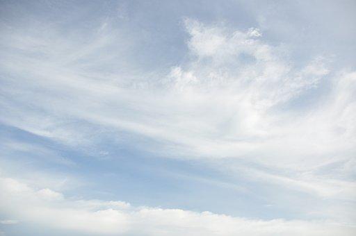 Blue, Sky, Thin Cloud