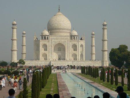 Taj Mahal, India, Temple
