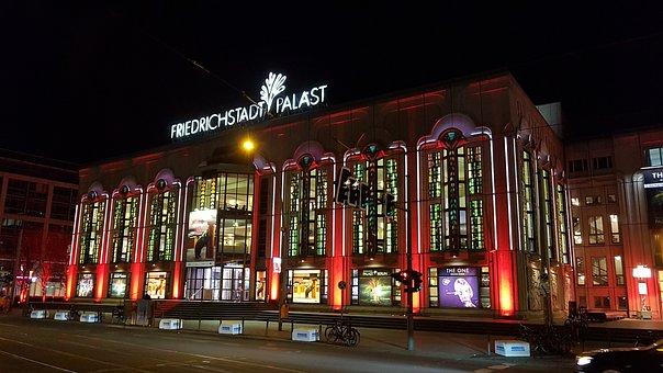 Berlin, Friedrich City Palace, Theater, Sightseeing