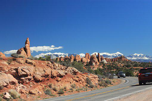 Utah, Sand Stone, Travel, Southwest, America, Moab