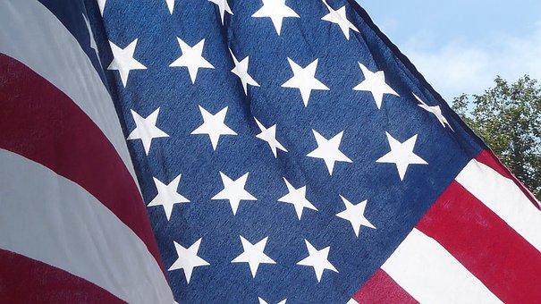 American Flag, Flag, American, Stars, Stripes, Red