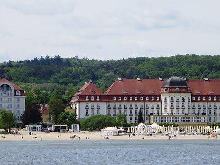Poland, Sopot, Baltic Sea Coast, Seaside Resort