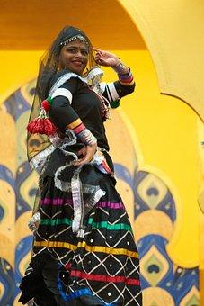 Woman, Dance, Asian, Beautiful, Fashion, Clothes