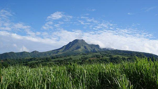 Nature, Sky, Blue Sky, Clouds, Landscape, Mountain
