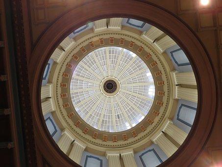 Dome, Building, Inside, Architecture, Landmark