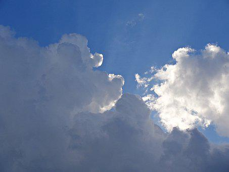 Sky, Clouds, Cloud Cover, Nature, Blue Sky, Glomerulus