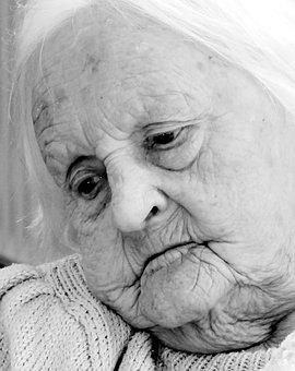 Seniorin, Old, Grandma, Old People's Home, Human, Face