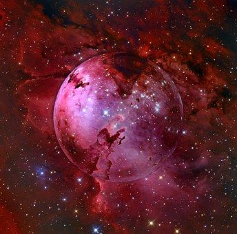Galaxy, Fog, Kosmus, Universe, Milky Way, Night Sky