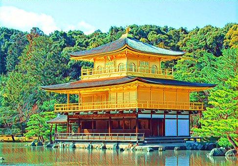 Kyoto, Japan, Architecture, Historic, Culture, Buddhism