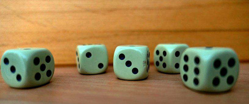 Cube, Craps, Eyes, Play, Luck, Lucky Dice