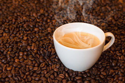 Coffee, Coffee Cup, Hot Coffee, Steam, Smoke, Cup