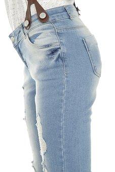 Pants, Hip, Studio, Fashion, Young, Model, Girl