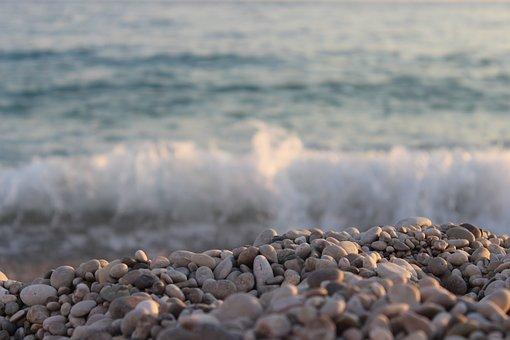 Dhermi, Albania, Stones, Beach, Summer, Hiking