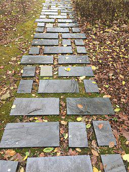 Stone Path, The I Ching Trail, Autumn Is Not