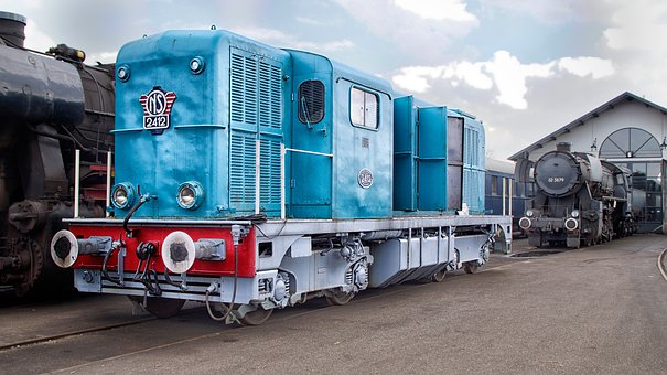 Train, Locomotive, Railway, Transport, Track, Trains