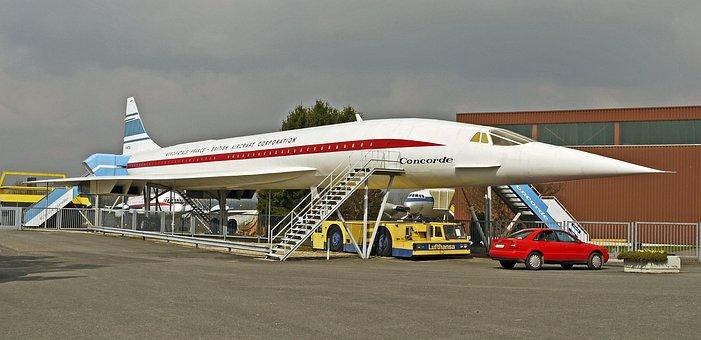 High Flyer, Concorde, Supersonic, Verkehrz Aircraft