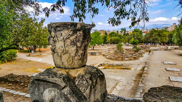 Athens, Urn, Greek, Greece, Classical, Ancient
