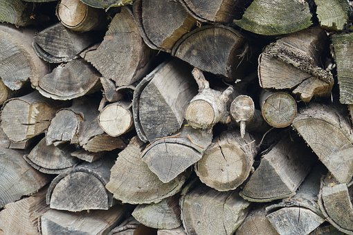 Pile Of Wood, Wood, Log, Arbitrate