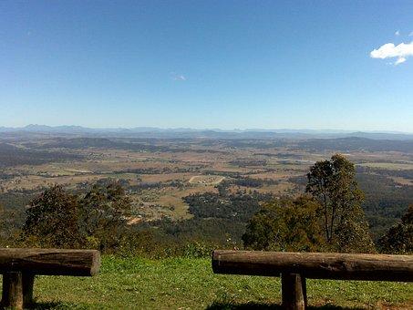 Mount Tambourine, Australia, Queensland, Landscape