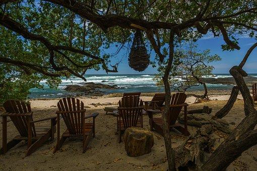 Beach, Tropical, Costa Rica, Tropical Beach, Ocean