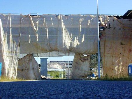 Building, Cover Sail, Cable Bridges, Energy