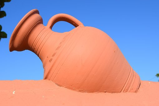 Pitcher, Potter, Ceramic, Traditional, Decoration, Wall