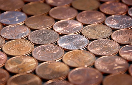 Coin, Cent, Money, Means Of Payment, Copper, Euro