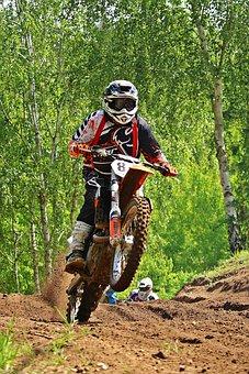 Dirtbike, Motocross, Enduro, Motocross Ride, Racing