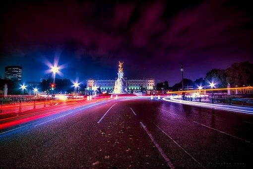 Pall Mall, London, England, City, Urban, Skyline, Night