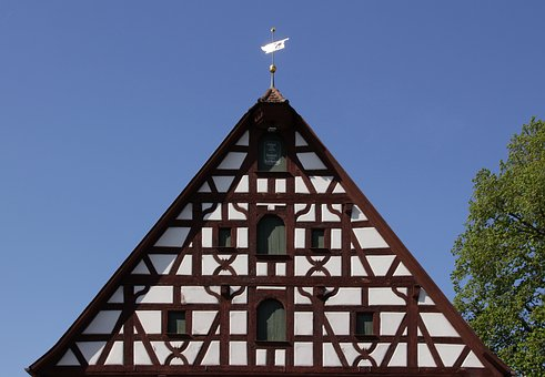 Architecture, Truss, Ammer Village, Historic Old Town