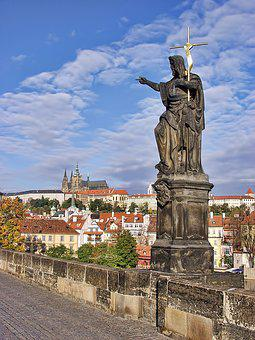 Prague, Castle, Czech, Landmark, Medieval, Famous