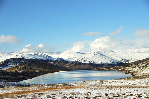 Kanas, Little Black Lake, In Xinjiang
