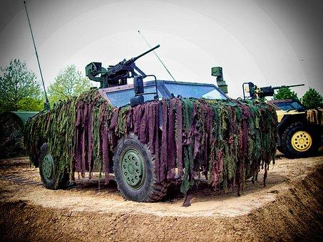 Reconnaissance Vehicle, Vehicle, Army, Military Vehicle
