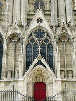 Paris, Notre-dame, North Portal, Transept, Gothic