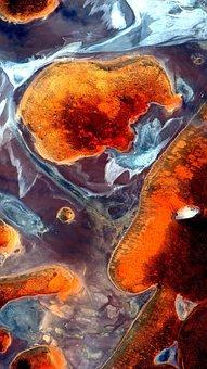 The Scenery, Landforms, Satellite