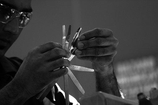 Technical, Tools, Mechanics, Automotive, Hands, Vehicle