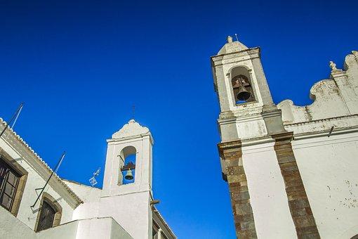 Tower, Bells, Portugal, Monument, Monsaraz