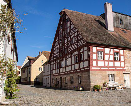 Architecture, Ammer Village, Truss, Historically