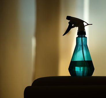 Sprayer, Atomizer, Water, Clean, Curtain, Living Room