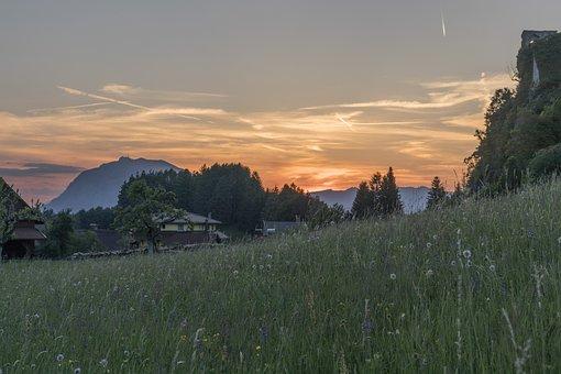 Sunset, Carinthia, Finkenstein, Abendstimmung