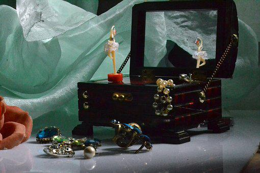 Music Box, Box, Ballet Dancer, Music, Love